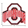 Ohio State Buckeyes Style-2 Embroidered Iron On Patch