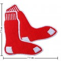 Boston Red Sox Style-1 Embroidered Iron On Patch