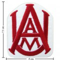 Alabama A&M Bulldogs Style-1 Embroidered Iron On Patch