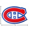 Montreal Canadiens Style-1 Embroidered Iron On Patch