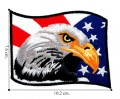 American Bald Eagle Flag Style-1 Embroidered Iron On Patch