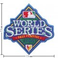 World Series 2008 Embroidered Iron On Patch