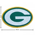 Green Bay Packers Style-1 Embroidered Iron On Patch