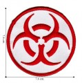 Biohazard Sign Style-3 Embroidered Iron On Patch