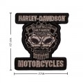 Harley Davidson Cognition Patch Embroidered Iron On Patch
