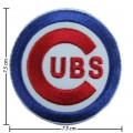 Chicago Cubs Sport Style-1 Embroidered Iron On Patch
