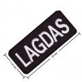 Lagdas Embroidered Iron On Patch