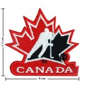 Canada Hockey General Mills Style-1 Embroidered Iron On Patch