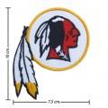 Washington Redskins Style-1 Embroidered Iron On Patch