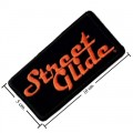 Harley Davidson Street Glide Patch Embroidered Iron On Patch