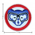Chicago Cubs Sport Style-6 Embroidered Iron On Patch