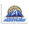 Asheville Altitude The Past Style-1 Embroidered Iron On Patch