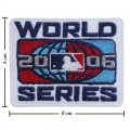 World Series 2006 Embroidered Iron On Patch