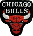 Chicago Bulls Style-2 Embroidered Iron On Patch