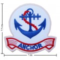 Anchor Style-2 Embroidered Iron On Patch