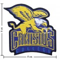 Canisius Golden Griffins Style-1 Embroidered Iron On Patch