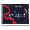 Twilight Book Series Eclipse Style-1 Embroidered Iron On Patch