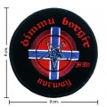 Dimmu Borgir Music Band Style-1 Embroidered Iron On Patch