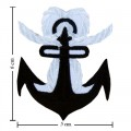 Anchor Style-9 Embroidered Iron On Patch