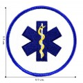 Emergency Medical Technician Style-3 Embroidered Iron On Patch