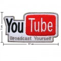 YouTube Style-1 Embroidered Iron On Patch