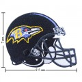 Baltimore Ravens Helmet Style-1 Embroidered Iron On Patch