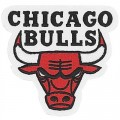 Chicago Bulls Style-3 Embroidered Iron On Patch