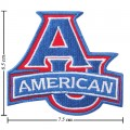 American Eagles Style-1 Embroidered Iron On Patch