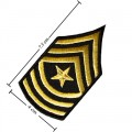 US Army Stripe Style-15 Embroidered Iron On Patch