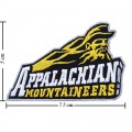 Appalachian State Mountaineers Style-1 Embroidered Iron On Patch