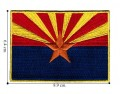 Arizona State Flag Style-1 Embroidered Iron On Patch